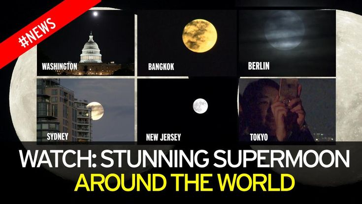#20161114 #Supermoon ~ Watch: Stunning SUPERMOON Around The World + #20161115 Supermoon 2016: Live updates as the most spectacular full moon in nearly 70 YEARS happens around the World. The spectacular 'supermoon', which can be viewed from the UK, will appear 14 per cent bigger and 30 per cent brighter than usual. http://www.mirror.co.uk/news/world-news/supermoon-2016-live-updates-most-9259353