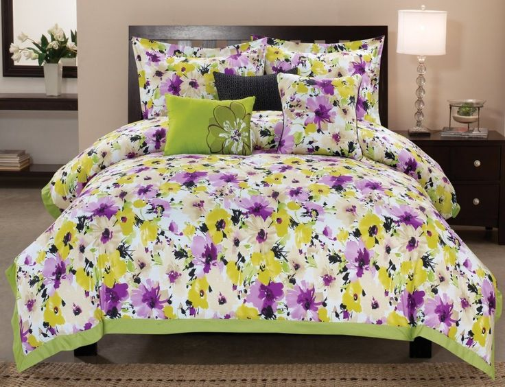 Tulip Watercolor Bedspread Google Search Washington