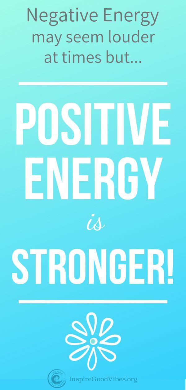 Positive energy ideas
