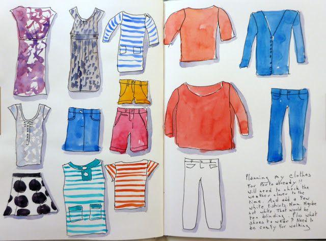MHBD's Blog: My wardrobe for Porto?
