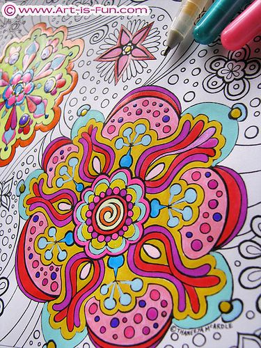abstract coloring pages google - photo #9