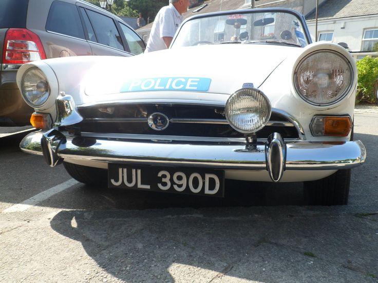 1966 Sunbeam Tiger Police Car