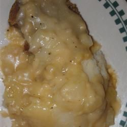 I've made this vegetarian gravy every Thanksgiving for the past 11 years ... soooooooo good. Vegetarian Gravy Allrecipes.com