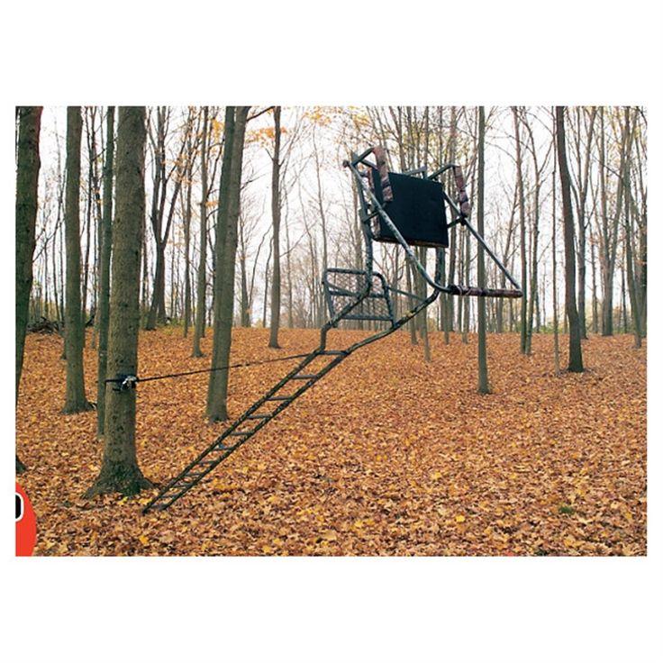 Guide Gear Ladder Tree Stand Installation Hoist System
