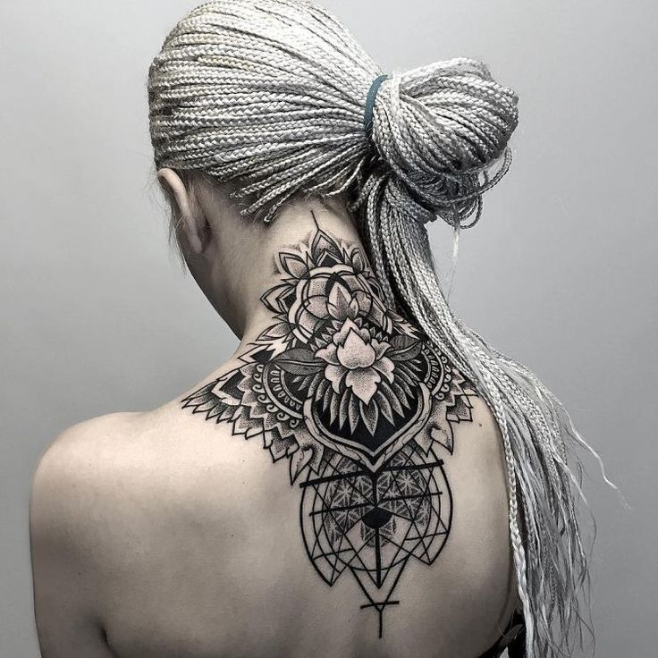 d028ba53948e5 50 of the Most Beautiful Mandala Tattoo Designs for Your Body & Soul | * TATTOO'S AND BODY ART* | Nape tattoo, Mandala tattoo design, Mandala tattoo