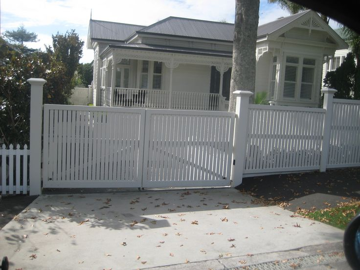 villa fences nz - Google Search