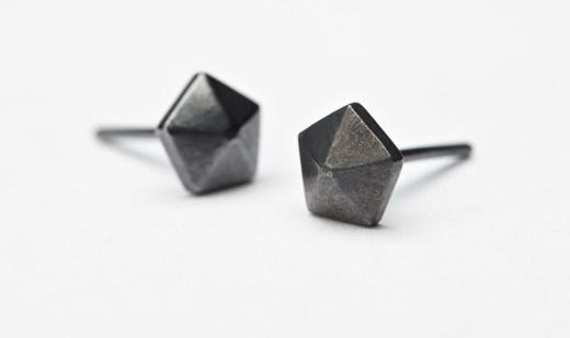 Pernille Corydon Small Rivet Sticks - oxideret