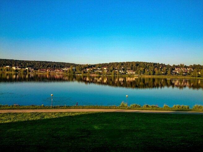 Vanajavesi lake in Hämeenlinna, Finland. View from Hämeen castle. #hämeenlinna #finland #finlandnature