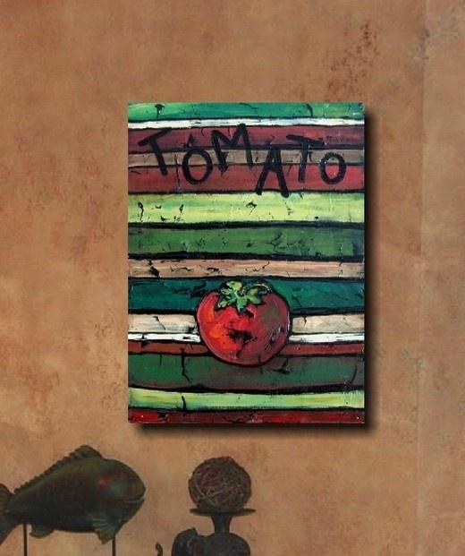 Tomato    Kitchen Decor Art
