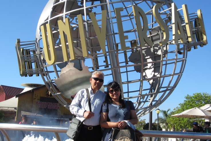 Universal studio Hollywood with Daddy