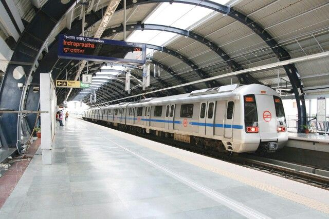 Delhi metro ride..safe  and economical way of commuting in the city. Don't miss the ride if you are in my city.