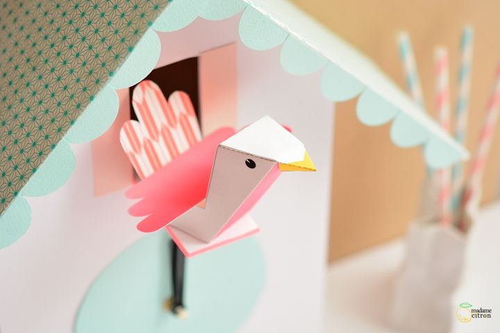 Image result for paper cuckoo clock