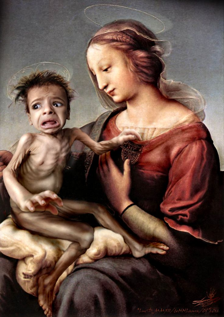 Madonna and  the Ugly Child_looks can be deceiving