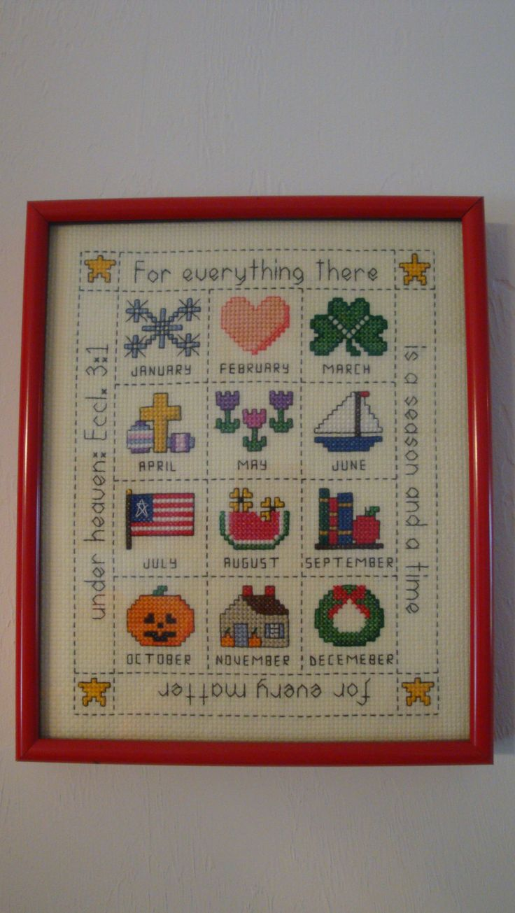13 Best Images About Counted Cross Stitch On Pinterest