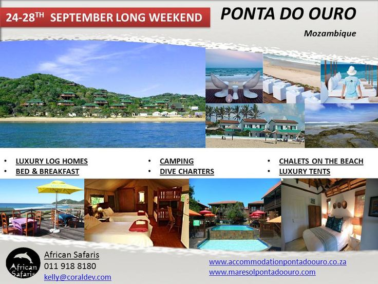 September accommodation specials in Ponta Do Ouro