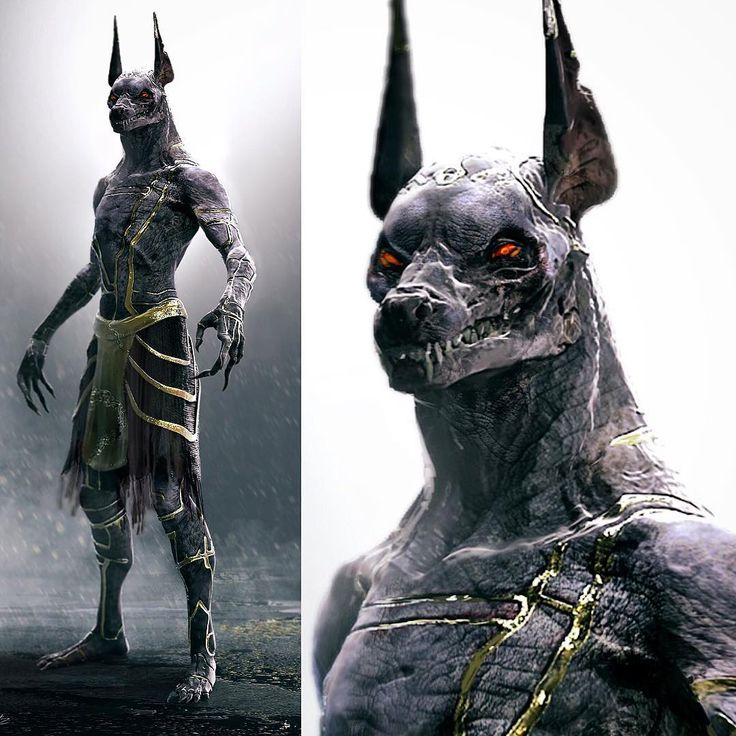 #anubis #creaturedesign for #godsofegypt. I did these designs through Legacey Fx. Great company and phenomenal team of artists. I'm pretty sure this was the design used in the film. Haven't seen the movie yet :-) #egypt #mythology #dog #god #underworld #creature #character #conceptart #monster #gold #zbrush #keyshot #jackel #godofdeath #jeradsmarantz