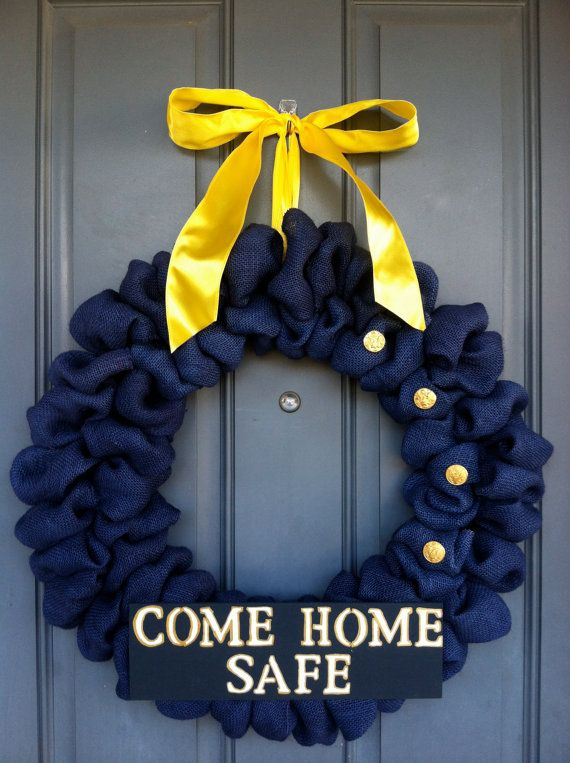 Air Force Wreath by WoulfsCreations on Etsy, $50.00