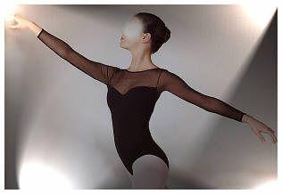 Justaucorps de danse a manches longues,Leotards,Degas,Dance supplies,Nice,Nizza,Danse en Corse