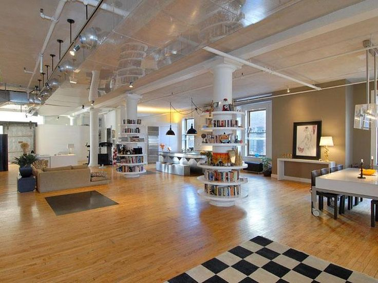 image via twisted sifter: loft living in soho
