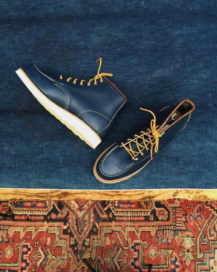 These babies won't be here for long! The Red Wing Shoes 8882 Classic Moc Toe in Indigo Portage! | http://ift.tt/180OFjM | http://ift.tt/1Qr7OTY
