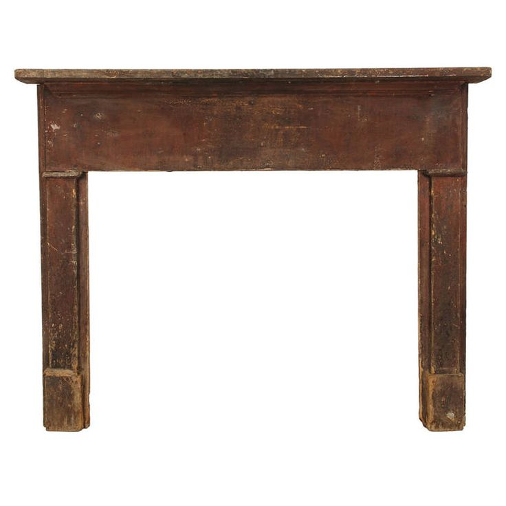 American Primitive Mantel | From a unique collection of antique and modern fireplaces and mantels at https://www.1stdibs.com/furniture/building-garden/fireplaces-mantels/