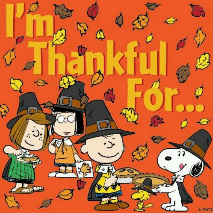 <3 Snoopy & the Peanuts Gang Thanksgiving
