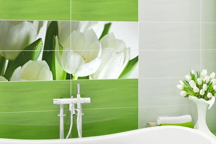 Зеленая ванна. Зеленый цвет в интерьере ванной комнаты – идеи дизайна.
