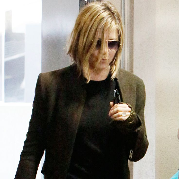 Jennifer Aniston Has Cut Her Hair — Exclusive Pics! #celebrityhair #jenniferaniston