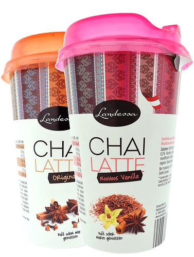 Landessa Chai Latte #design #packaging