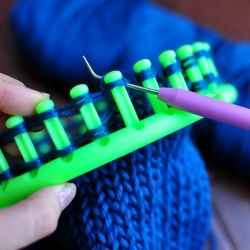 Loom knit a cover for your iPad.