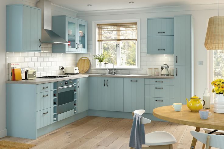 The kit+kaboodle classic Griddle kitchen range from Homebase will suit any home looking for a modern style with a traditional twist.