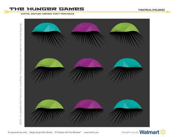 Hunger Games Cupcake Toppers The Hunger Games Printable ...
