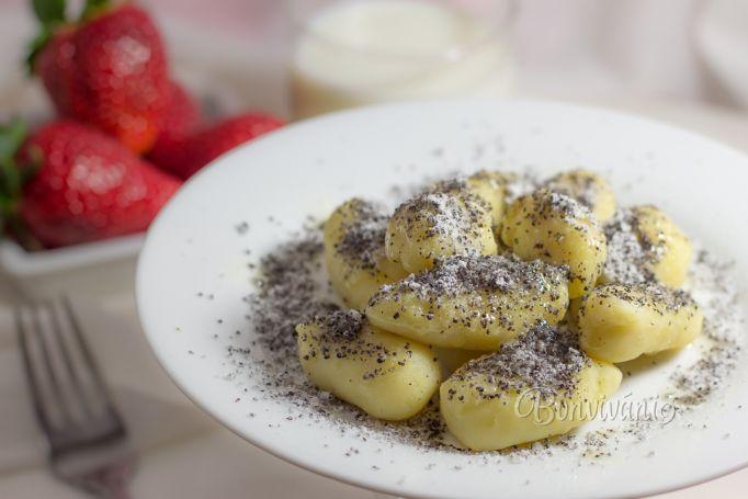 Zemiakovo - tvarohové šúľance • recept • bonvivani.sk