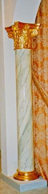 Dipingere artisticamente gli stucchi decorativi 8