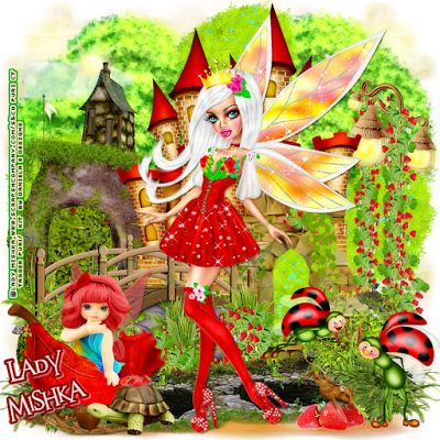 """MI RINCÓN GÓTICO: CT for Daniela E Designs, """"Strawberry Fairy"""""""