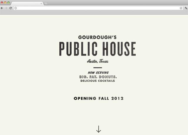 Public House Splash Page