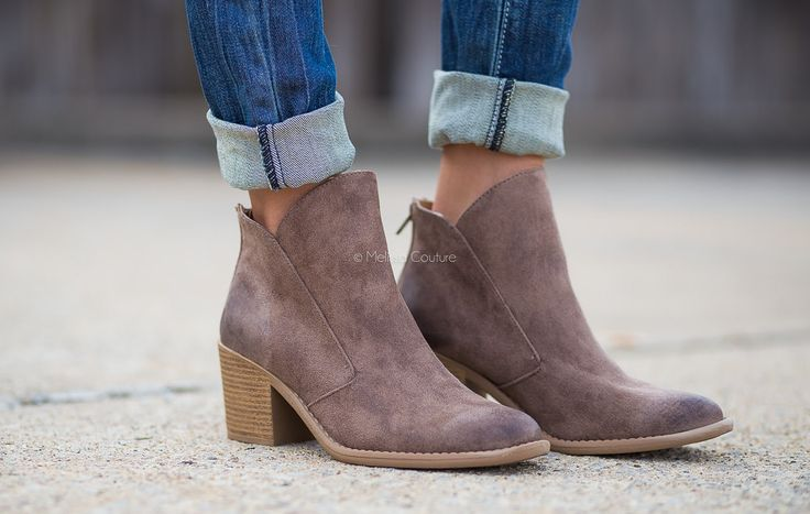 Fall in love with these awesome booties. Perfect for fall!