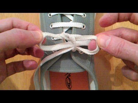 これはマスターしたい…ほどけない靴ひもの結び方「イアン結び」&「イアン・セキュア結び」 : らばQ