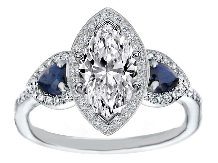 17 Best ideas about Marquise Engagement Rings on Pinterest