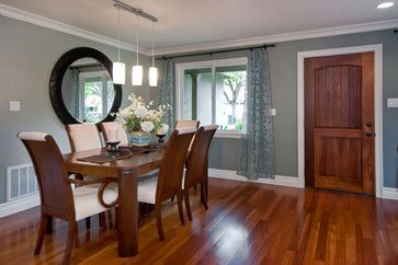 Wood Door White Trim Design Ideas, Pictures, Remodel, and Decor