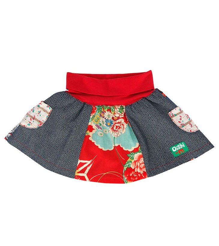 Botanica Skirt, Oishi-m Clothing for kids, Spring 2015, www.oishi-m.com
