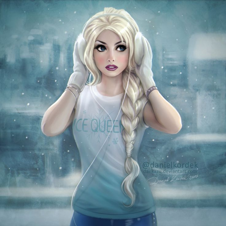 Frozen: Modern Elsa by daekazu on DeviantArt