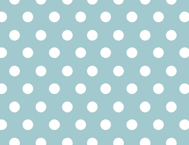 Designed Tablecloth. white polka dots pattern on light blue background. Polka dots tablecloth by StudioTAMUK on Etsy