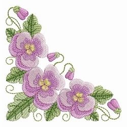 Pansy Beauty 2 - 4x4 | What's New | Machine Embroidery Designs | SWAKembroidery.com Ace Points Embroidery