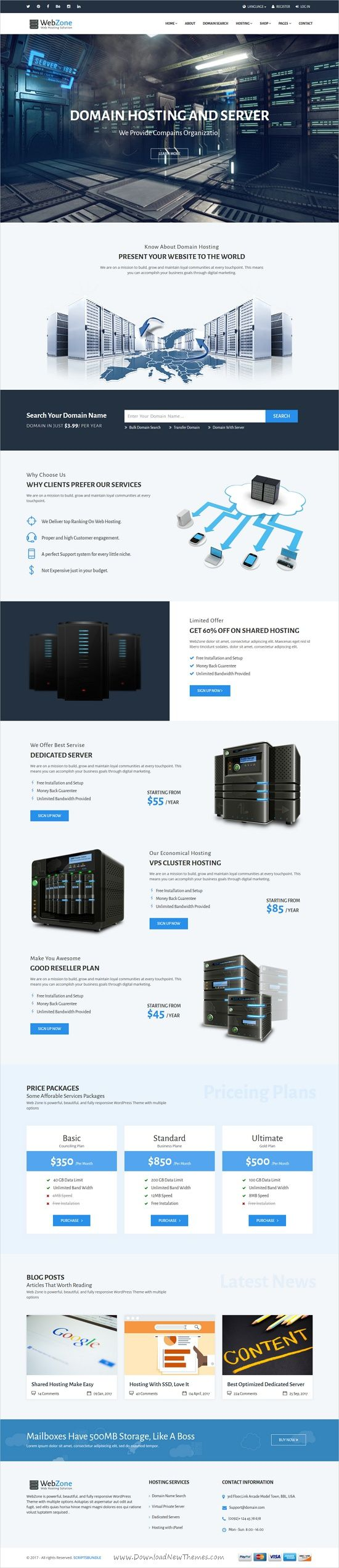 WebZone is a wonderful 3in1 responsive HTML #bootstrap template for #web #hosting, Marketing, software businesses companies websites download now➩ https://themeforest.net/item/webzone-exquisite-hosting-and-marketing-template/19320022?ref=Datasata