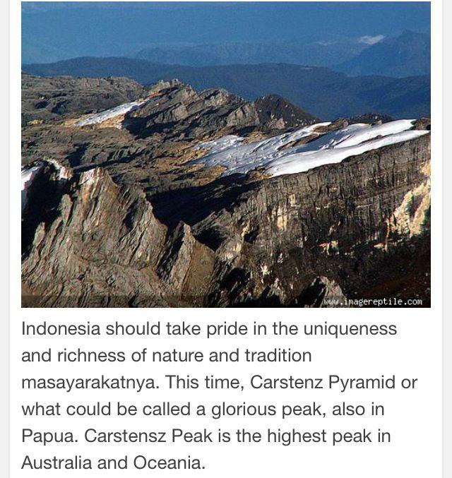 Carstensz Peak & Jayawijaya-Papua Indonesia.