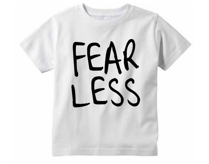 Fearless Shirt // Children's clothing - Graphic tee - Mommy and me shirts  - Be fearless - Toddler tshirt - Adventure shirt - Wild child by SkeleteePrinting on Etsy