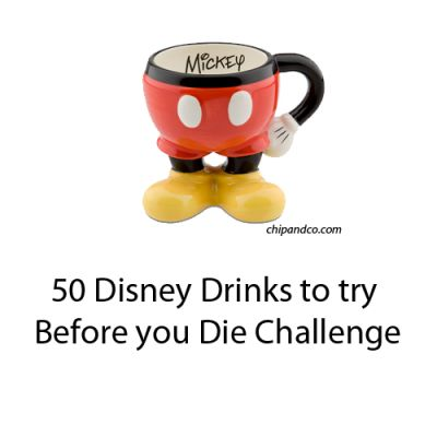50 Disney Drinks to Try Before You Die Challenge
