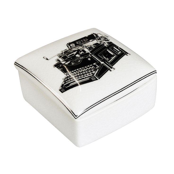 Madras Link Typewriter Box