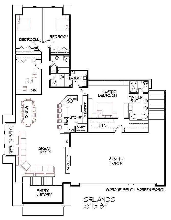 Best 25 four bedroom house plans ideas on pinterest one for Four bedroom house plans with basement